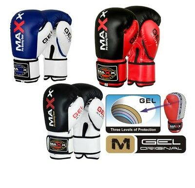 Maxx Boxing Gloves, MMA, Sparring Punch Bag, Kick Muay Thai Competition Training