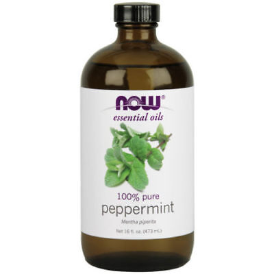 NOW Foods Essential Peppermint Oil 100% Pure Mentha Piperita 16 oz Aromatherapy