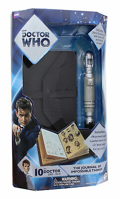 Doctor Who Journal Of Impossible Things & Mini Sonic Screwdriver Pen