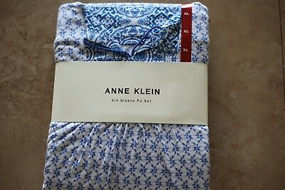 Anne Klein - 3/4 Sleeve PJ Set  *** FREE SHIPPING ***