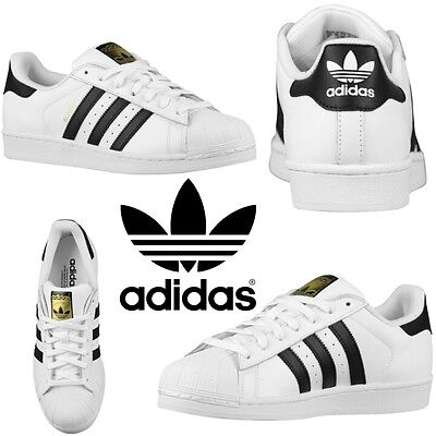 wholesale dealer b2ff0 bd5f7 Adidas Originals Superstar Mens Sneakers Athletic Sport Casual Running Gym  NIB