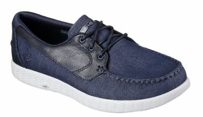 Skechers On the GO Glide Men's Boat Shoes Available in 2 Colours and 5 Sizes