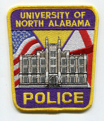 University of North Alabama Police Patch // FREE US Shipping!