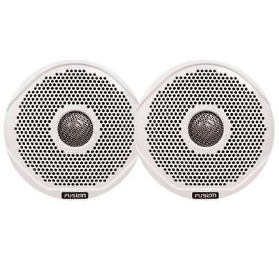 """Fusion MS-FR6GW-6 6"""" Pair of White Grills for FR6021/22 #010-01647-00"""