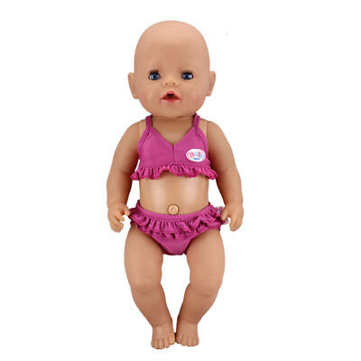 Meired Bikini Doll Clothes Wearfor 43cm Baby Born zapf(only sell clothes)