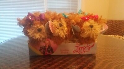 New JoJo Siwa Nickelodeon BOW BOW PLUSH DOG Puppy BLUE BOW AVAILABLE DANCE MOMS!