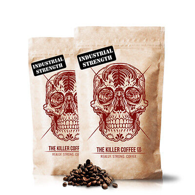 Killer Coffee Special - 2x Bags, Strong Coffee Beans or Ground