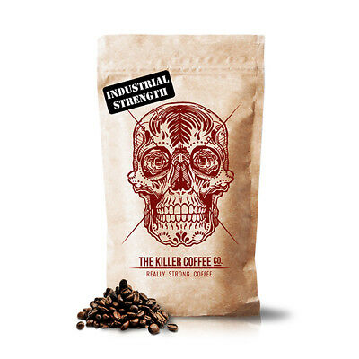 Killer Coffee - Coffee Beans or Ground, 1kg or 200g Bags