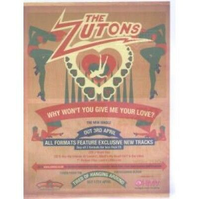ZUTONS Why Won't You Give Me Your Love ADVERT UK Delta Sonic 2006 Original