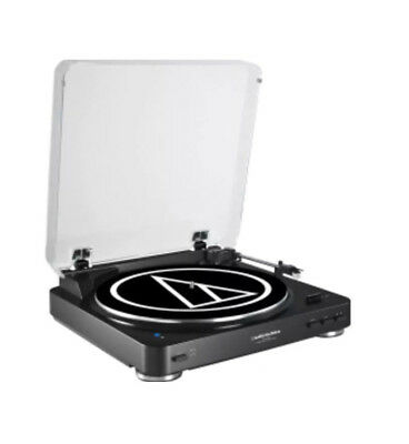 Audio Technica Bluetooth Belt Drive Turntable Black