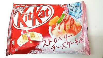 NEW Nestle KITKAT Japan Strawberry Cheesecake 1Bag (13pieces) Japanese F/S