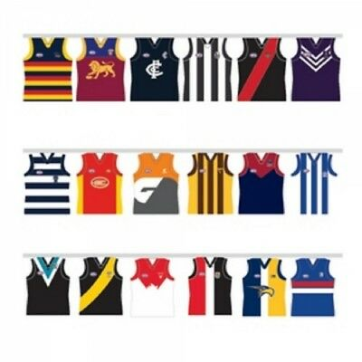 All Team 5 Metres Official AFL Team Party Bunting BNWT