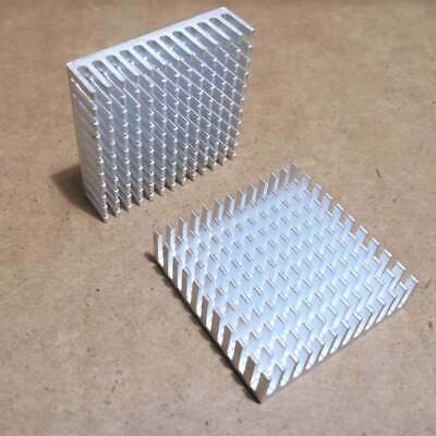 10pcs Heat Sink Aluminum Cooling Fin Heat Sink 40*40*11mm for Router CPU IC