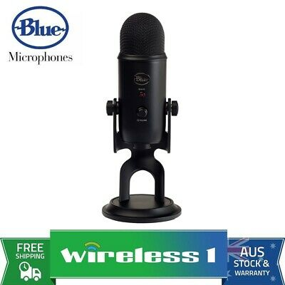 Brand New Blue Microphones Yeti 3-Capsule USB Microphone - Black