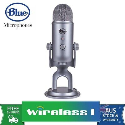 Brand New Blue Microphones Yeti 3-Capsule USB Microphone - Space Grey