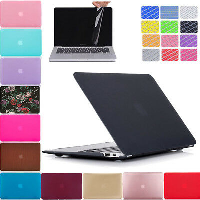 Hard Plastic Case & Keyboard Cover & Screen Protector For Mac Air 13 A1466 A1369