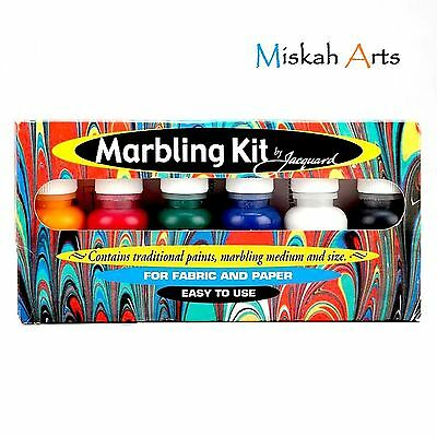 Jacquard Marbling Kit - For Fabric & Paper - New & Improved