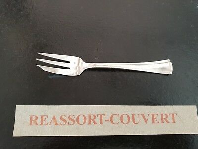 Fork Cake Saglier Lotus 14 Cm Good Condition Silver 0106 18