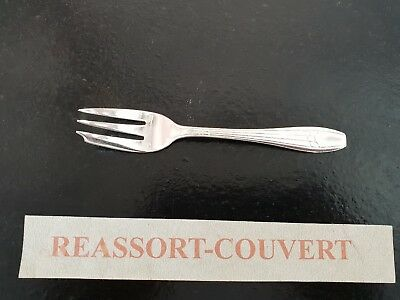 Fork Cake Argental Art Deco Damask 13.5 Cm Beautiful Condition Silver 0106 18