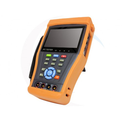 4.3 Touch Screen inch IP Analog Camera Tester PTZ control AHD TVI 1080P PoE