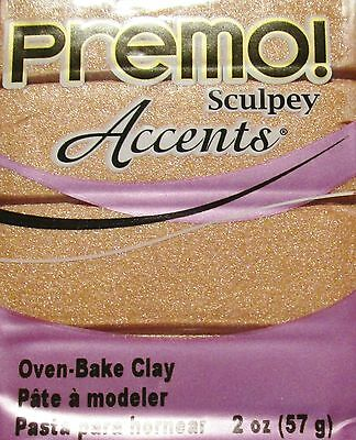 Sculpey PREMO ACCENTS - Polymer Clay - 57g - COPPER