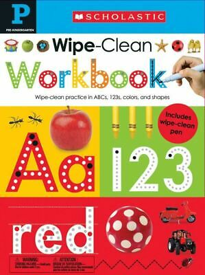 Wipe Clean Workbook: Pre-K (Scholastic Early Learners) Spiral-bound