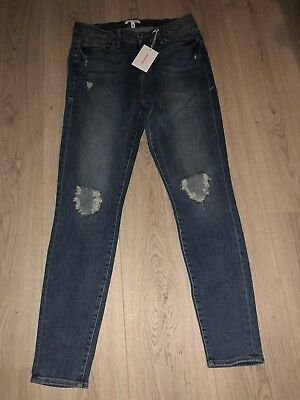 5d3f7911384 NWT GOOD AMERICAN Good Legs High Rise Ripped Skinny Jeans - $79.99 ...