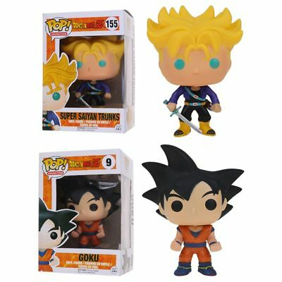 HOT Funko POP Dragon Ball Z Super Saiyan Goku PVC Action Figure 10cm Dragonball