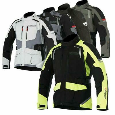 Alpinestars Motorcycle Bike Adventure Touring Andes Drystar v2 Textile Jacket