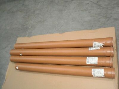 Floplast 110mm drainage pipe (socketed) bundle