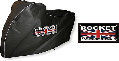 Triumph Rocket 3 111 Breathable Indoor Motorcycle cover by Dustoff! Covers