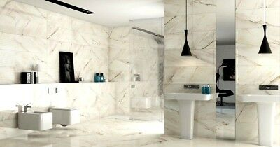 Calcutta Gloss Marble Design Wall Tiles 30x60. Triple A Grade Quality Tiles EOFY