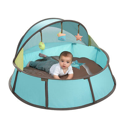[Babymoov] Baby Bed Tent Playpen Mats 3 in 1 One Touch Activity Gym Napper