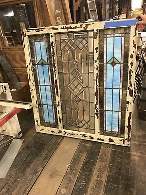 antique stained glass window With Beveled Glass Arts/craft Style