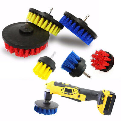 """4"""" Full Tile Grout Power Scrubber Cleaning Drill Brush Tub Cleaner Combo Tool"""