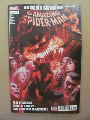 Amazing Spider-Man #800 Marvel 2018 Red Goblin Carnage Alex Ross Cover 9.2 NM-