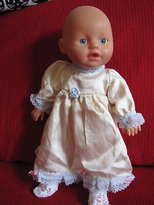 """Zapf Creations Little Baby Born """"Mommy look I can swim"""" Doll. 40cm / 13"""""""