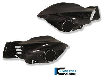 Ilmberger GLOSS Carbon Fibre Air Tube Intake Cover Set Pair BMW K1200 R 2007