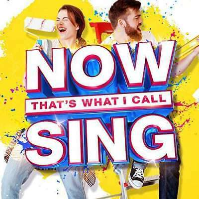 Various Artists - Now That's What I Call Sing NEW CD
