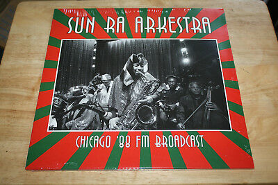 Sun Ra Arkestra - Chicago 88 FM Broadcast - Top Egg Raid Free Jazz 2LP Album TOP