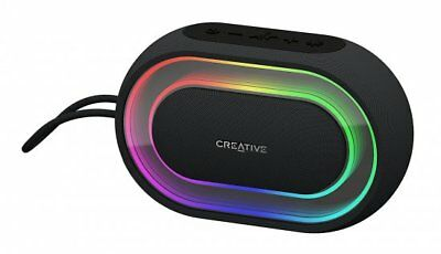 Creative Halo Portable Bluetooth Speaker Xpectra Lightshow Control Stereo Music