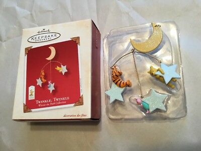 2003 Hallmark Twinkle, Twinkle Mobile Winnie-the-Pooh Collection SDB