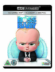 The Boss Baby 4K Ultra HD NEW 4K UHD (6536606000)