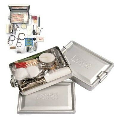 101 Inc survivalset Survival Kit in Aluminium Box - 18-delig