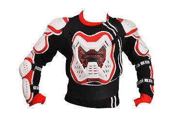 XTRM Body Armour RED WHITE MX MOTOCROSS QUAD ENDURO DIRTBIKE CE APPROVED