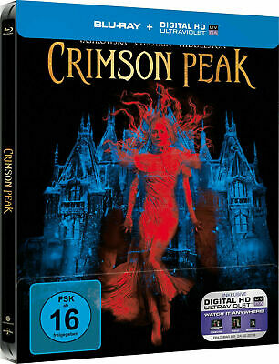 Crimson Peak - Limited Edition Steelbook [Blu-ray] New and Factory Sealed!!