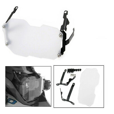 Clear Motorcycle Headlight Guard Protector Cover For BMW R1200GS 2013-2016