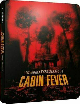 Cabin Fever - Unrated Director's Cut - Limited Ed. Steelbook [Blu-ray] New!!