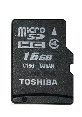 Toshiba 16gb Micro SD SDHC Memory Card for Mobile Phone Tablet Camera Backup