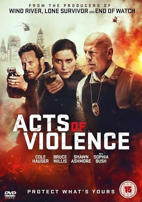 Acts Of Violence DVD NEW DVD (SIG534)